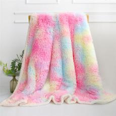 pink, Blankets & Throws, fur, Winter