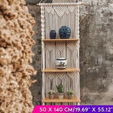 bohemia, wovenwoodshelf, Tassels, woven