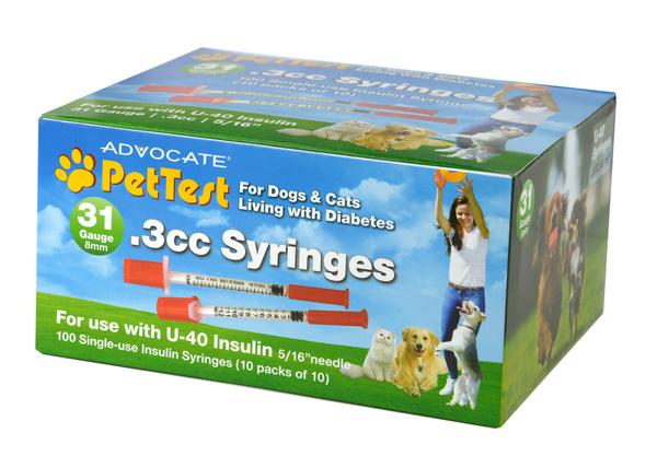 u40, diabetestestingsupplie, insulinsyringe, Pet Supplies
