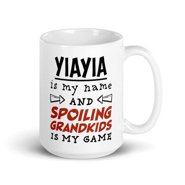 yiayia, Funny, Coffee, Gifts
