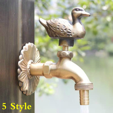 Decorative, Brass, Faucets, Outdoor