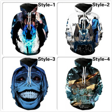 3D hoodies, Fashion, sololevelinghoodie, men clothing
