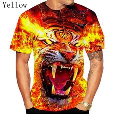 tigerprinted, tigertshirt, 3dshirt, Shirt