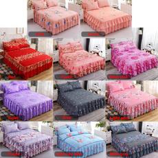 Home & Kitchen, bedskirtking, bedspreadset, Elegant