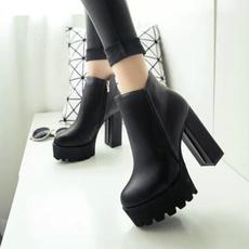 Fashion, Platform Shoes, Women's Fashion, blackheel