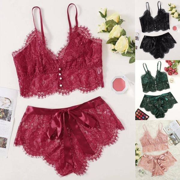 Summer, underwearset, Fashion, Lace
