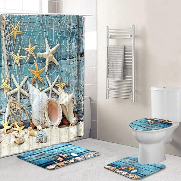 Blues, Summer, Bathroom, bathroomdecor