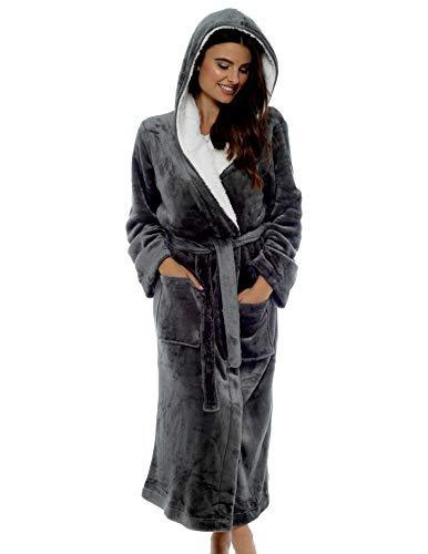gowns, Grey, Bathrobe, Women's Fashion