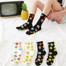 cartoonsock, multiplecolorssock, Fashion, Cotton