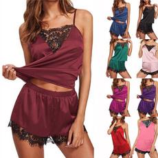 lace trim, nightwear, sexy lingerie, Lace