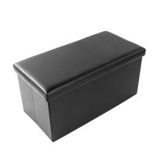 leatherstool, Box, footstool, leather