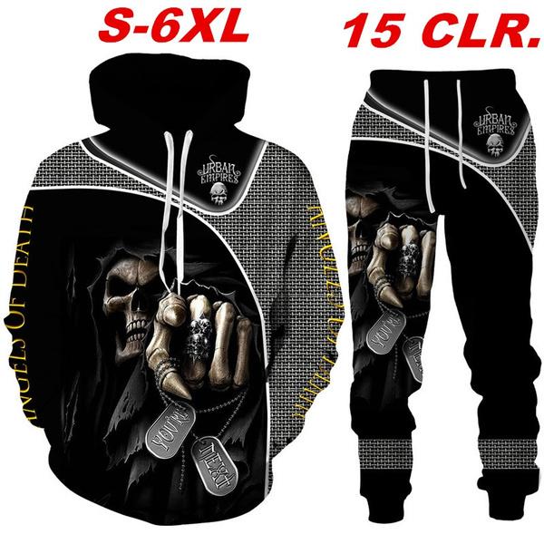 Goth, Fashion, fashion tracksuit, skullpantssuit