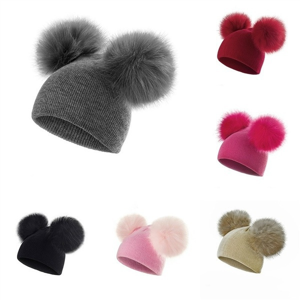 pompomcap, Beanie, Winter Hat, Outdoor