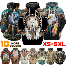 Fashion, nativeamerican, unisextop, men hoodie