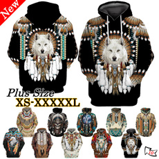 Fashion, nativeamerican, Sleeve, men hoodie