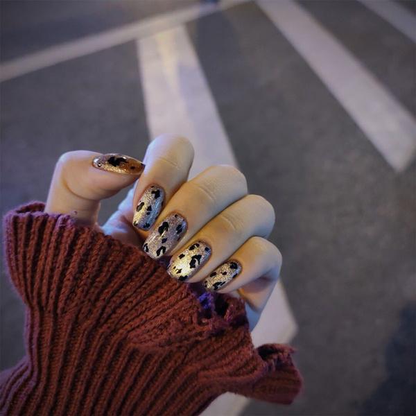 Head, Fashion, Nail Beauty, frenchnail