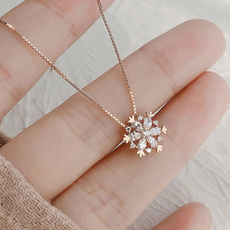 clavicle  chain, DIAMOND, Jewelry, gold