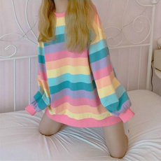 cute, Korea fashion, Fashion, Long Sleeve