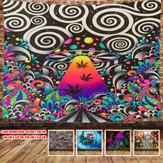 Wall Art, Home Decor, Mushroom, psychedelictapestry