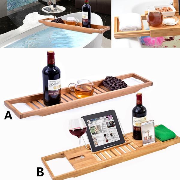 bathtubcaddy, Bathroom, Bathroom Accessories, Wooden