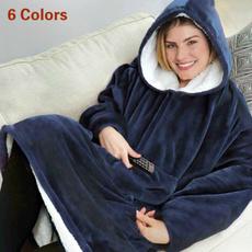 lazypulloverblanket, Fleece, hooded, pullover hoodie