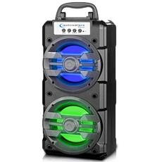 technicalpro, led, usb, bluetooth speaker
