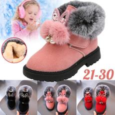 ankle boots, cottonshoe, velvet, Princess