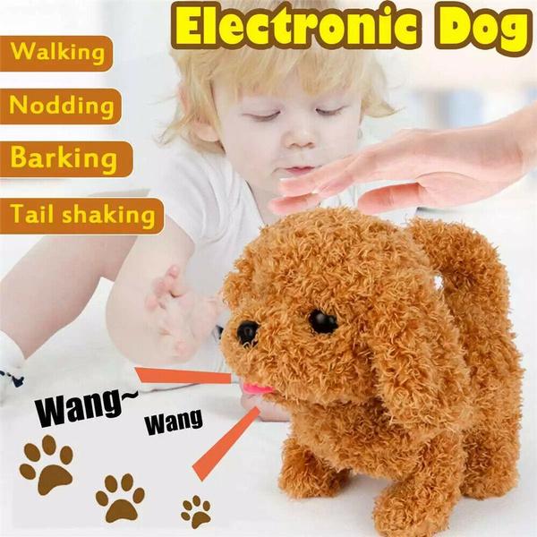 simulationdog, Plush Toys, Toy, Electric