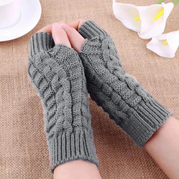 fingerlessglove, warmglove, knittedglove, handwear