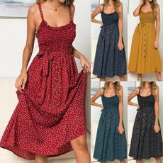 summer dresses, ruffle, women dresses, Dresses