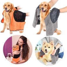 dogbathrobe, Towels, Cloth, Pets