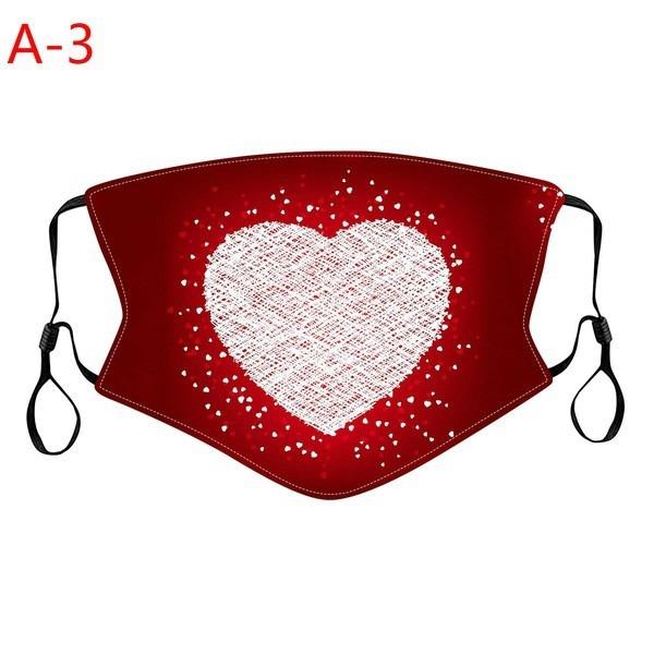 Cotton, Valentines Day, washed, Masks