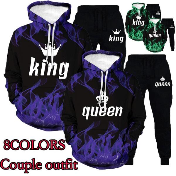 hoodiesformen, Fashion, lover gifts, 2pcsset