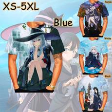 Necks, summer t-shirts, Harajuku, Japanese Anime