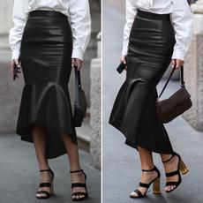 plussizeskirt, long skirt, pencil skirt, Waist
