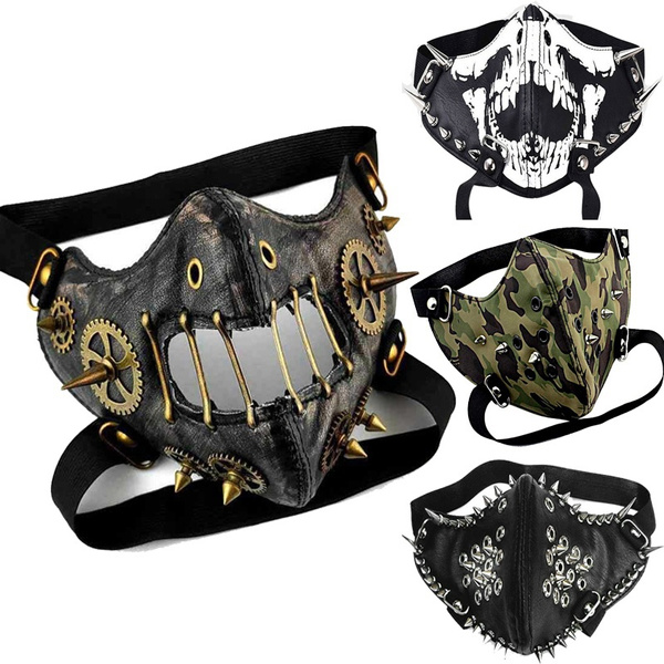 Goth, Cosplay, steampunkmask, leather