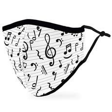 musicfacemask, musicmask, musicnotesmask, musicianfacemask