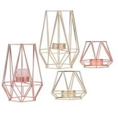 Candleholders, Home Decor, geometricpattern, Tea