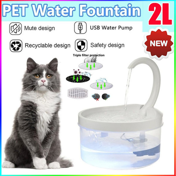 petwaterfountain, water, led, usb