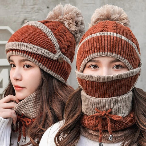 Warm Hat, Fashion, knit, thickhat