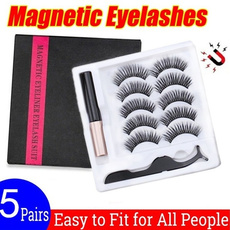 Eyelashes, Beauty, Waterproof, Magnetic