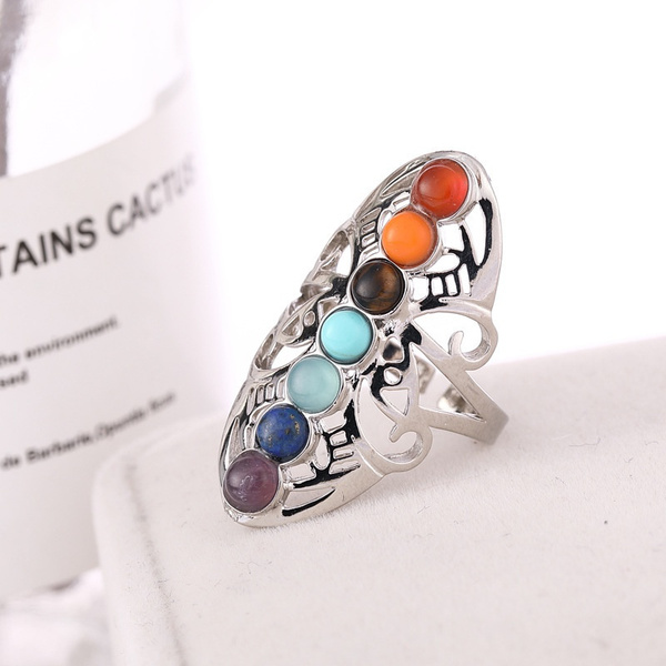 Fashion, hollowring, Colorful, europeanandamericanstyle