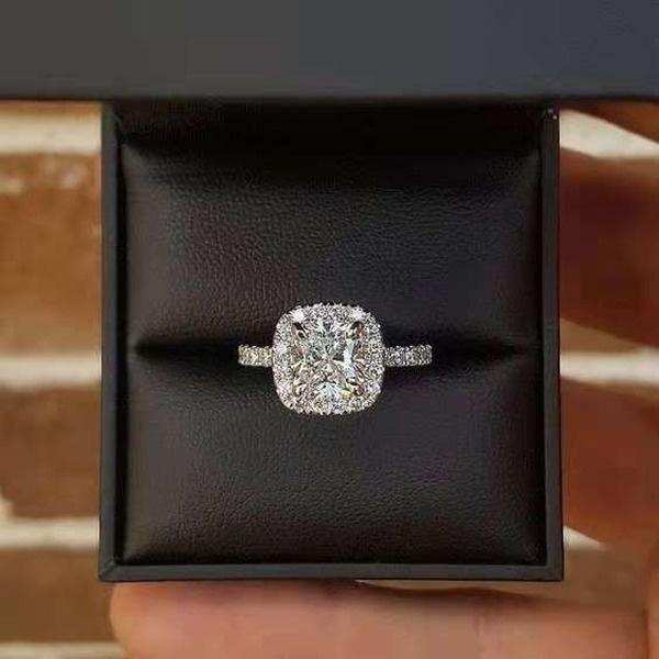 Sterling, DIAMOND, Bridal, sterling silver