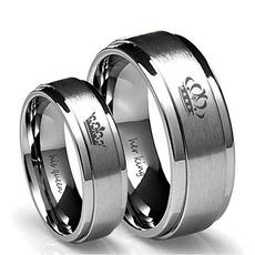Steel, King, Jewelry, Simple