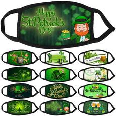 Irish, mouthmask, unisex, shamrockmask