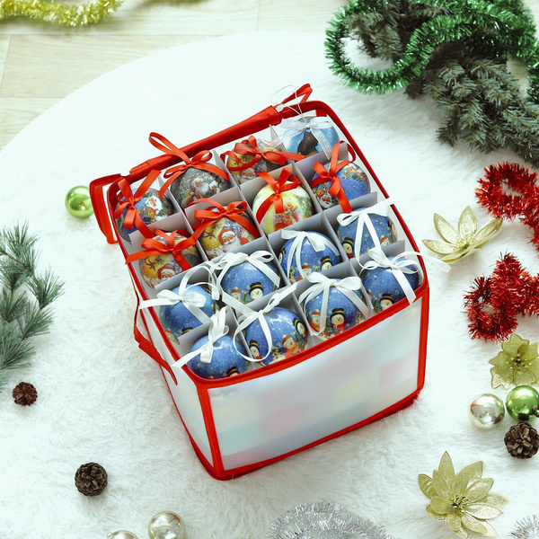 Storage Box, Box, Christmas, Zip