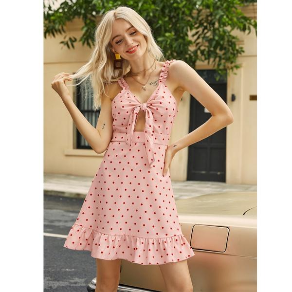 Summer, Fashion, halter dress, Halter
