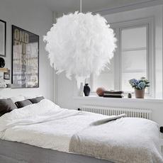 lampeled, roomlight, Romantic, featherlamp