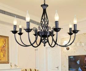 Head, ceilinglamp, diningroom, 6head