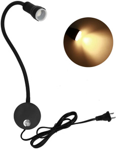 Antique, Steel, Wall Mount, led